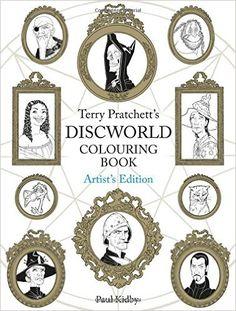 Terry Pratchett's Discworld Colouring Book: Artist's Edition Artist Edition: Amazon.de: Paul Kidby: Fremdsprachige Bücher