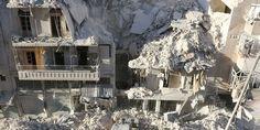 #Russian bombers hit #Aleppo as rebels repel assault