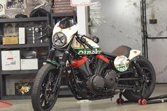 Préparations Liberty : YAMAHA XV 950 BOLT OLD RACER - Liberty Yam - Yamaha Périgueux