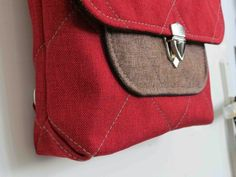 Buy The Convertible Bag sewing pattern from Sewing Patterns by Mrs H, and sew your own convertible bag, featuring a cross-body shoulder strap which can turn into a backpack. Available as a paper sewing pattern and as a PDF sewing pattern. Bag Patterns To Sew, Pdf Sewing Patterns, Convertible Backpack, Everyday Bag, Couture, Purses And Handbags, Bag Making, Jeans, Shoulder Strap