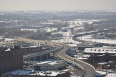 February 14, 2012: View from the 20th Floor of the U.S. Bank building, Lincoln, NE