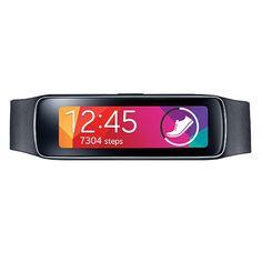 Samsung Gear Fit Smartwatch (Charcoal Black) SM-R3500ZKAXAR B&H