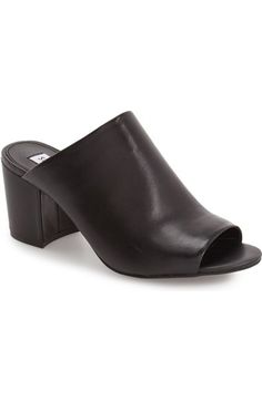 0bbd6170b7e Main Image - Steve Madden 'Infinity' Peep Toe Mule (Women) Τακούνια  Παπουτσιών