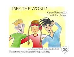 A glimpse into the world of a child's own visual limitations and those of others, building confidence, understanding, and acceptance. This printed book contains braille overlay as an aid to the blind child and a learning opportunity for the sighted one.