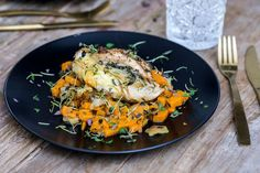 oppskrift-onsdag: kyllingfilet med epler og søtpotet | Caroline Berg Eriksen | Bloglovin'