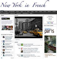 newyorkinfrench.net - un réseau social pour la francophonie à New York
