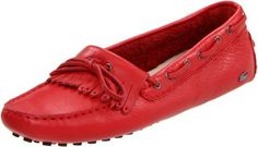 Lacoste Women's Courcelle Flat,Red,9.5 M US Lacoste, http://www.amazon.com/dp/B004UPG2DU/ref=cm_sw_r_pi_dp_PssYqb09RJN6B