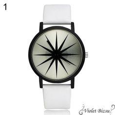 Fekete fehér unisex különleges ékszer óra Dobd fel ruhatáradat egy trendi órával 🙂  Fém óratok, quartz szerkezet  Szíj hossza kb. 22cm, szélessége kb 2cm  Az esetleges Kronográf mutatók csak díszítő elemek