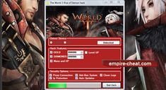 The World 3 Rise of Demon Hack Cheat   generate unlimited diamonds (orb)  gold get hacker  all security options  level up  fulll hp and mana  fast and easy to use software  About Our The World 3 Rise of Demon Hack  Using any of our hack tools is a pretty easy process,