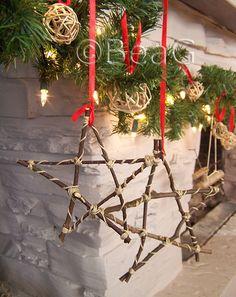stick stars ornaments