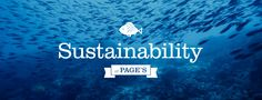 Sustainability - Page's Fish & Chips