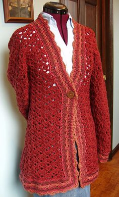 Hibiscus Car Coat by Robyn Chachula