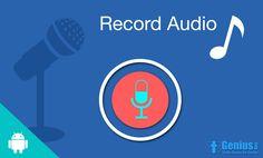 Audio Recorder With Media Controller.. #recorder #android #igeniusdev