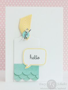 Inspired Hello by Tracy Schultz