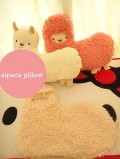 Mokomoko Alpaca Aroma Scent Hug Pillow Cushion RosePink