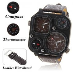 Oulm Military Men's Watch