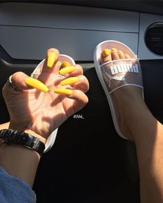 In seek out some nail designs and ideas for your nails? Listed here is our list of 34 must-try coffin acrylic nails for trendy women. Dope Nails, Nails On Fleek, Fun Nails, Sparkle Nails, Gorgeous Nails, Pretty Nails, Coffin Nails, Acrylic Nails, Acrylics