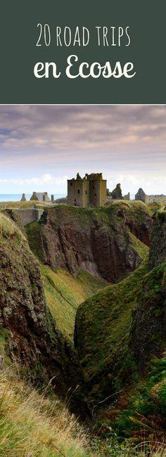 Travel and Trip infographic Ile de Skye, Edimbourg, Loch Ness : 20 road-trips en Ecosse ! Scotland Road Trip, Scotland Travel, Highlands Scotland, Places To Travel, Travel Destinations, Places To Visit, Europa Tour, Destination Voyage, Roadtrip