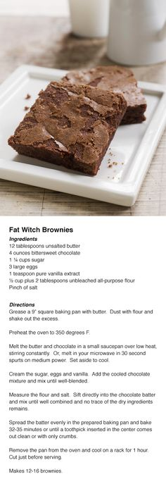 Fat Witch Original Brownie