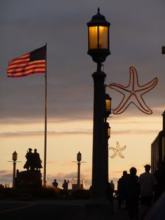 Seaside Oregon - starfish lights.  One of my best memories is spending the 4th of July in Seaside with my family. ;-)