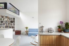 Terrace Is Ingeniously Lowered to Let Light Into London Home - http://freshome.com/terrace-lowered-london-home/