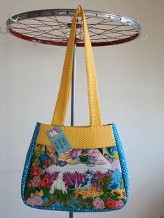 Tote Bag// Ethel Tote Bag// Tote// Purse// by HappyUnicornStudio