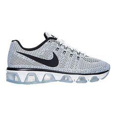 Nike Air Max Tailwind 8 Womens 805942-101 White Black Mesh Running Shoes Sz 6.5