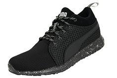 Puma CARSON MID KNIT Chaussures Sneakers Mode Homme Noir: Tweet Le style va à la rencontre de la performance avec ces chaussures de running…