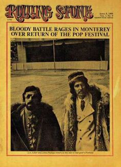 Rolling Stone - Monterey Pop Festival with John Philips
