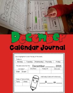 December Calendar Activities Teaching children daily calendar related activities helps to increase their understanding of dates, time, numbers, days of the week and so much more. December Calendar, Calendar Time, Daily Calendar, Teacher Created Resources, Teacher Resources, Kindergarten Activities, Learning Activities, Math Meeting, Calendar Activities