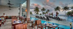 Sea Olive offers amazing ocean views and guests can hear the waves of the ocean while enjoying their meal