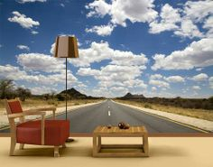 Wall Art, Home and Decor Online Store Route 66 Wallpaper, Wallpaper Wall, Photo Wallpaper, Wall Murals, Wall Art Decor, Guest Room Decor, Patio, America, Outdoor Decor