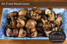 Garlic and vermouth roasted mushrooms - Hot Air Frying Fig Recipes, Mushroom Recipes, Veggie Recipes, Gourmet Recipes, Healthy Recipes, Vegetarian Recipes, Breaded Mushrooms, Roasted Mushrooms, Garlic Mushrooms