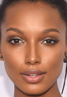 Close-up of Jasmine Tookes at the 2016 amfAR New York Gala.