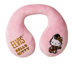Die kuschelige Hello Kitty Guitar Man Nackenrolle bietet Ihnen einen angenehmen Komfort im Auto und sorgt für bequemes Reisen.