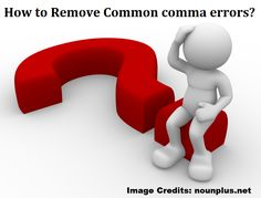 How to Remove Common comma errors? Using comma is a common error that we usually do in writing a sentence. Read this blog and get idea on such common mistake: https://www.nounplus.net/blog/how-to-remove-common-comma-errors/  #onlinegrammarchecker #correctenglish #grammarerror #grammarcheckingtool