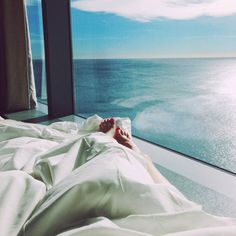Who wouldn't want that view first thing in the morning?