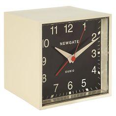 Newgate Cubic Alarm Clock.