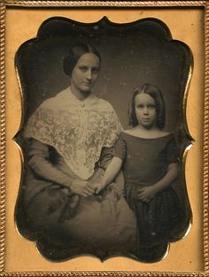 Mom and Girl-1850's
