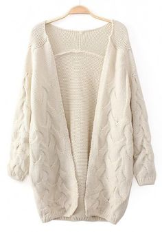 A lovely neutral cardigan. I love the weave at the bottom and it looks so comfy and cuddly and soft.