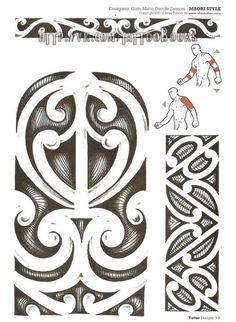 Tribal Maori and Polynesian Tribal Tattoo Designs, Tribal Tattoos, Tattoo Maori, Henna Tattoos, Ski Sport, Maori Art, Sports Graphics, All Blacks, Tatting