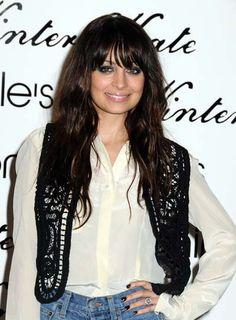Nicole Richie Wavy, Edgy Hairstyle