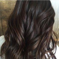 C H O C O L A T E  via @hair.by.karissa