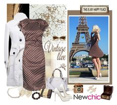 """""""Newchic 30."""" by carola-corana ❤ liked on Polyvore featuring BCBGMAXAZRIA, Christian Louboutin, Poncho & Goldstein, women's clothing, women, female, woman, misses, juniors and newchic"""