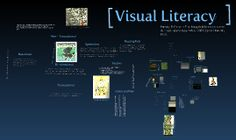 Definition of visual literacy and terms with examples. Excellent!!