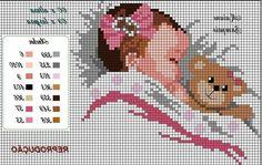 Baby Cross Stitch Patterns, Cross Stitch Baby, Cross Stitch Alphabet, Cross Stitch Animals, Learn Embroidery, Cross Stitch Embroidery, Cross Stitch Silhouette, Cross Stitch Beginner, Cross Stitch Christmas Stockings