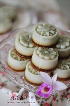 煎哆椰糖燕菜 (Gula Melaka Cendol Jelly)