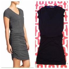 Athleta Topanga V-neck dress Black. Poly/Rayon/spandex. Like new condition. No trades. No PayPal. Athleta Dresses