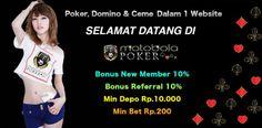 Ada beberapa syarat menjadi new member dari agen judi poker online Indonesia terpercaya yang harus anda miliki untuk dapat menikmati permainan poker online.