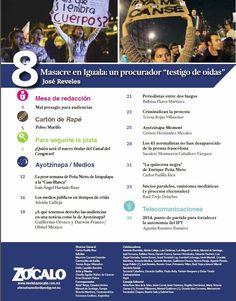 Masacre en Iguala, revisa aquí los contenidos de revista Zócalo de diciembre